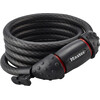 Masterlock Quantum 8121 Bike Lock 10 mm x 1.800 mm grey/black
